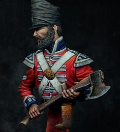 Pioneer Corporal, Coldstream Guards, Waterloo 1815