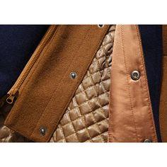 cba46f66cf7 Hot-sale designerWool Detachable Scarf Mid Long Trench Coats Business  Casual Stylish Coat Slim Fit