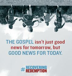 The Gospel isn't just good news for tomorrow, but good news for today. Matt Chandler, Affirmation Quotes, Things To Know, Good News, Art Quotes, Affirmations, Snoopy, Wisdom, Future