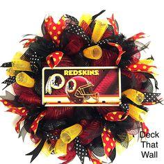 Washington Redskins Mesh Wreath