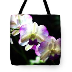 "Aloha Tote Bag by Flamingo Graphix John Ellis (18"" x 18"").  The tote bag is machine washable, available in three different sizes, and includes a black strap for easy carrying on your shoulder.  All totes are available for worldwide shipping and include a money-back guarantee."