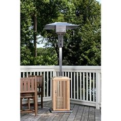 Fire Sense Wood Patio Heater   Stainless Steel   SEE PHOTO . $169.95.  CLOSEOUTS .