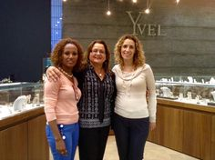 Yvel and Megemeria's warm staff is on hand to help in the Yvel Design Center in Jerusalem. Megemeria Jewelry available at accessible prices.