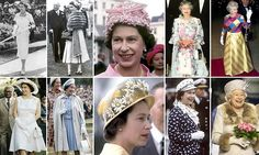 As the Queen celebrates her 90th birthday today - making her the country's first nonagenarian sovereign - FEMAIL looks back at some of this most fashionable monarch's most memorable outfits.