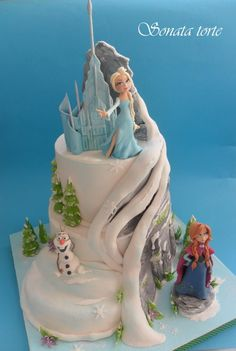 KORY - Do you think you could make this cake????  Frozen cake