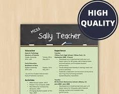 image result for creative resume templates for microsoft word teacher