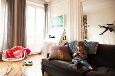 Sophie Thimonnier, François Grouiller et Joséphine 3 ans | The Socialite Family