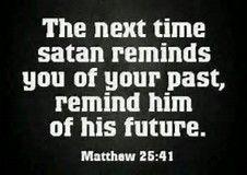 Image result for Rebuking Satan in Jesus Name
