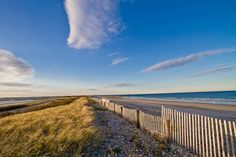 A gorgeous day at Duxbury Beach - after this long winter it will be great to have a beach day!