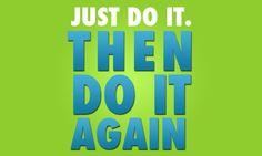 Just do it. Then do it again. #fitness #p90x #juliomedina #shakeology #beachbody
