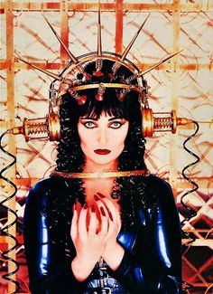 Siouxsie Sioux by David LaChapelle, 1995......(2015/10/17)
