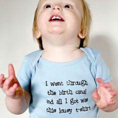 Birth canal tshirt