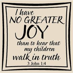 3 John 1:4 IIII