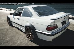 Spoiler für BMW E36 Coupe Limousine Heckspoiler Heckflügel  Verbreiterungen