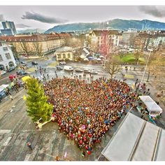 """we are the love we seek"" Zurich - Switzerland in a demonstration for the environment"