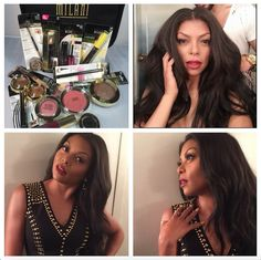 If Cookie can wear Milani so can I!!!! Taraji P. Henson on The Tonight Show with Jimmy Fallon