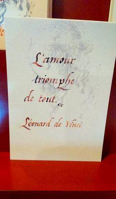 Amboise, Vinci, Love Is, Triomphe, Good Vibes, France, Style, Citation Amour, Alchemist