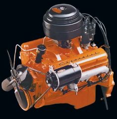Check out today's blog post to see the very first #Chevrolet small-block #V8 engine.  Source - General Motors/ The Chevrolet Small-Block Bible