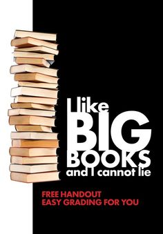 Click here for a FREE handout that will make both you and your students happy. Keep your teens reading. Easy grading for you.