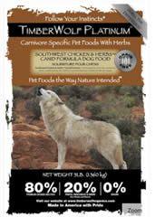 FREE Timberwolf Organics Pet Food Sample on http://www.icravefreebies.com/