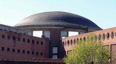 Panorámica posterior de la cúpula de la cárcel de Carabanchel. Madrid, 26 de octubre de 2008 - Portal Fuenterrebollo