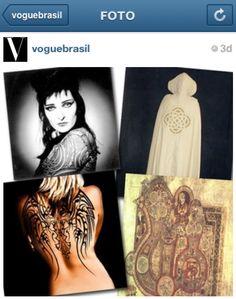 #regram da @Vogue Brasil com moodboard inspiracional da coleção de inverno 2014. Tema: Grã Bretanha! #desfile #spfw #inverno2014 #animalebrasil