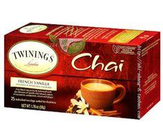 3 Free Twinings Tea Samples!