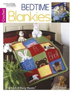 The Best of Mary Maxim Bedtime Blankies