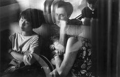 Gianni Berengo Gardin  Sul treno Milano-Roma 1991