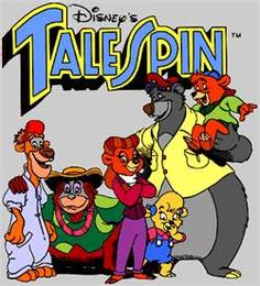 Loved Tale Spin I Named My Cats Rebecca And Balua