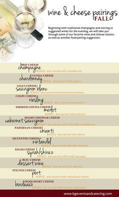 Wine and Cheese Pairings for the Fall Season