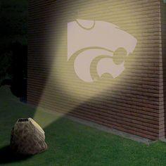 Kansas State Wildcats Logo Projection Rock