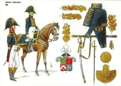 Baron Jacques Joseph COUTURE, Adjudants Commandants 1809 Etat Major, Colonel, French Empire, French Army, Alexander The Great, Military Weapons, Napoleonic Wars, Military History, France