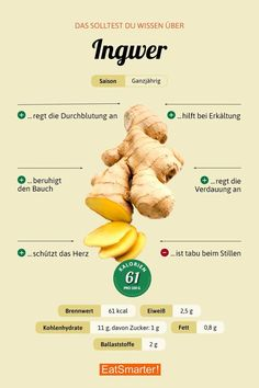 You should know this about ginger! - You should know that about ginger! - You should know this about ginger! – You should know that about ginger! Healthy Foods To Eat, Healthy Eating, Healthy Recipes, Pot Roast Beef, Watermelon Smoothies, Smoked Beef Brisket, Tabu, Eat Smart, Food Facts