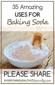 35 Amazing Uses For Baking Soda