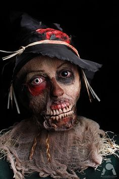 Scary Scarecrow | Halloween | Pinterest | Scary scarecrow ...