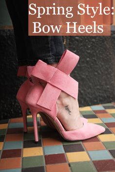 Spring Style: Bow Heels from SheInside.com | Stile.Foto.Cibo