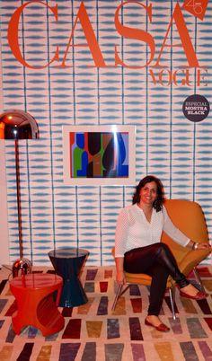 Capa da Revista Casa Vogue 2015 Arquiteta Maristela Broilo.