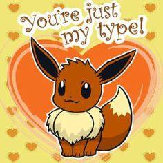 Adorable Valentine from pokemon fb I Choose You Pokemon, Pokemon Firered, Pokemon Eeveelutions, Pokemon Memes, Pikachu, Pokemon Stuff, Pokemon Valentine Cards, Valentine Day Cards, Pokemon Cards