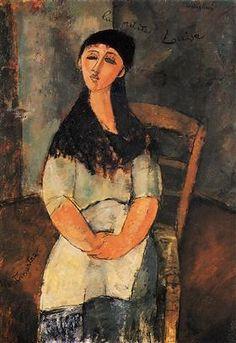 Little Louise - Amedeo Modigliani