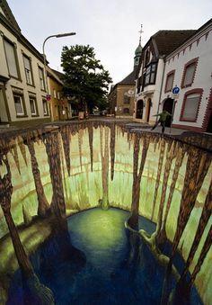 3D street art..too amazing!!!!!!