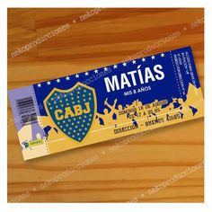 Cumple d los melli Boca Jr, Ideas Para Fiestas, Martini, Candy, Birthday, Roman, Posters, Restaurant, Birthday Cards For Kids