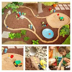 Backyard Projects for Kids: DIY Race Car Track – Architecture & Engineering