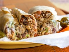 13 Burrito Styles Everyone Should Know Mexican Food Recipes, Healthy Recipes, Ethnic Recipes, Group Recipes, Mexican Cooking, Mexican Dishes, Healthy Food, Cooking Recipes, Mission Burrito