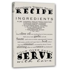 Kitchen Canvas Wall Art 18x24, personalized kitchen story, wooden custom subway sign