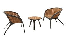 Gloster teak chairs