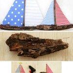 Лодка от дървена кора