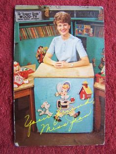 Miss Jean, Romper Room Teacher, WOOD-TV 8 - c. 1960s  Yes, I'm old enough to remember her on TV when I was a child, and as a preteen, went to her charm school. Every girl should go to charm school, seriously.