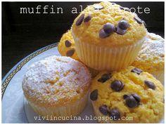 Muffin alle carote e mandorle - Bimby