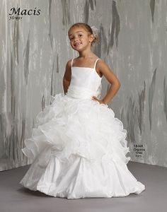 d101a1a85 Macis Designs Girls Dress M1844a Design Girl, Ivory Dresses, Wedding Dresses  For Sale,
